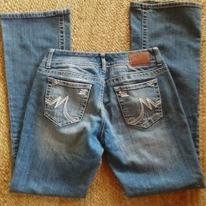MAURICE'S Boot Cut Jeans Size 7 Long
